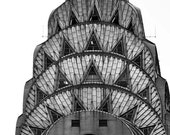Chrysler Building New York- Art Deco Architecture in Black and White New York City Photography