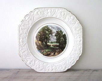 Vintage English Plate Constable The Cornfield Lord Nelson Ware