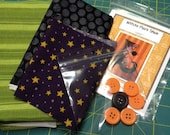Witchy Poo's Shoe Applique Tea Towel Kit with Pattern
