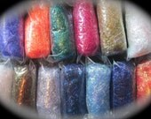 Angelina Fiber Collection 13 Colors .1 Oz Portions (1.3 OZ) Crimped or Straight Cut Sampler