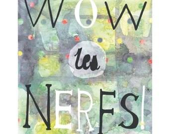 Inspirational print, Motivational print, Illustration in french,
