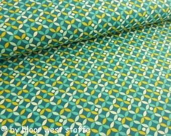 "Lillestoff Stretchjersey ""Roberta"" by enemenemeins, Organic Cotton Fabric"