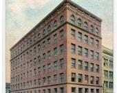 Citizens National Bank Des Moines Iowa 1910c postcard