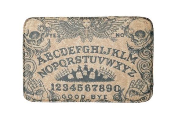 Ouija Board Angel Bath Mat Rug