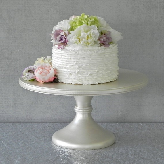 16 wedding cake stand 16 wedding cake stand cupcake pedestal ivory by 1029