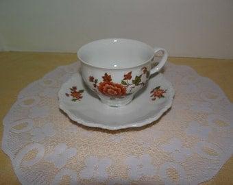 Tea Cup, Seltmann Weiden Teacup and saucer