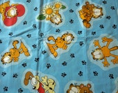 Rare Garfield Springs In Cotton Fabric Price PER YARD