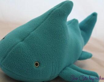 Aqua Plush Shark