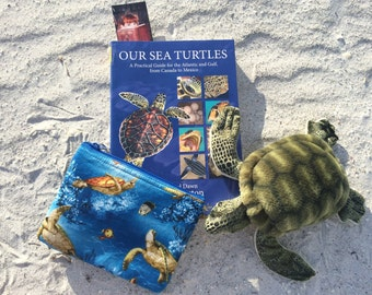 Sea Turtle cosmetic bag