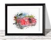 50% OFF SALE Race Car -Nursey/Teen Room/Bedroom/ Printable Art , Art Printable , Home Decor