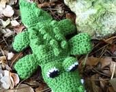 Green Baby Floppy Alligator