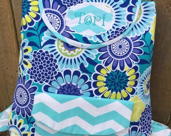 Toddler Backpack - over 200 fabric choices - personalized