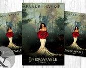 """Premade Digital Book eBook Cover Design """"Inescapable"""" Literary Fiction Young New Adult YA Romance Fantasy"""