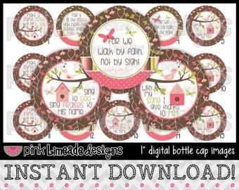 """Joyful Noise - INSTANT DOWNLOAD 1"""" Bottle Cap Images 4x6 - 614"""