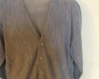 Vintage Men's Pickering Cardigan Sweater sz L