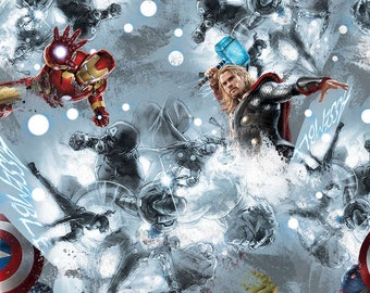 Marvel Avengers Sketch Art Toss - Springs Creative - 1 Short Yard