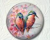 Pocket Mirror  Colorful Birds  Buy 3 Get 1 Free  508