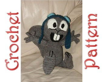 Squeak the Squirrel A Crochet Pattern by Erin Scull