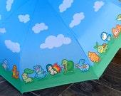 Pokemon Starter Parade Umbrella