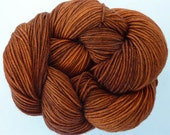 MERINO - CINNAMON 100% Virgin Wool superwash (Merino) / 100g, yardage 310m