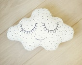 Petit Design Cloud Nursery Pillow
