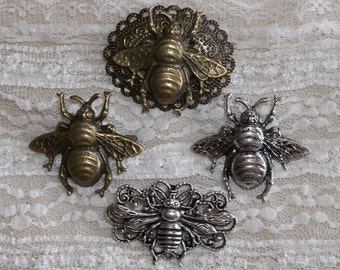Bee Brooch- Add A Bee To Your Bonnet!