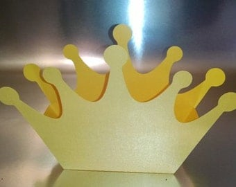 DIY simple one piece crown box set of six