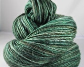 Handspun Yarn Gently Thick and Thin Single Blue Faced Leicester 'Billiards'