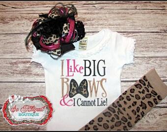 I Like Big Bows & I Cannot Lie Outfit