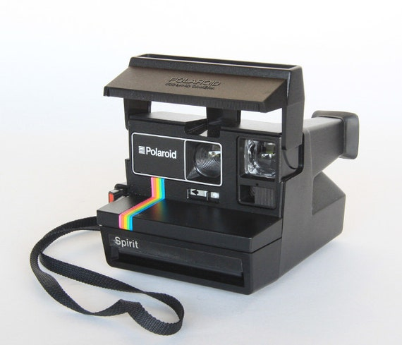 polaroid spirit 600 camera. Black Bedroom Furniture Sets. Home Design Ideas
