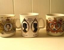 instant collection of vintage British Royal Family souvenir memorabilia