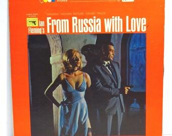 From Russia With Love James Bond 007 Album Cover Purse Custom Made Vintage Record Purse LP Album Handbag Tote