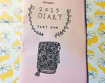 2015 Diary Part One - Hobonichi Techo planner