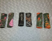 Camo Car Seat Strap Covers- Real Tree Car Seat Covers- Harness Strap Covers- Camo Covers- Pink Orange Brown- Ships out in 1-3 Days