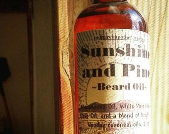 Sunshine and Pine Beard Oil