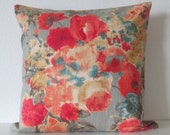 Garden Odyssey Fog decorative pillow cover