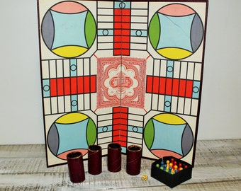 1938 Selchow and Righter Parcheesi