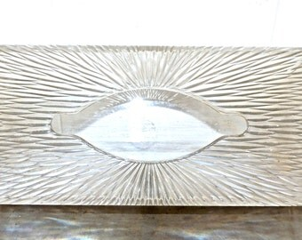 vintage tissue box cover - 1950s Celebrity lucite tissue box