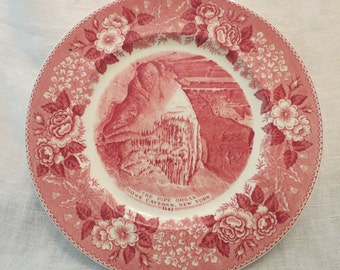 CLEARANCE: The Pipe Organ, Howe Caverns New York Vintage Plate