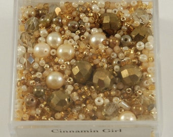 Cinnamin Girl Bead Box