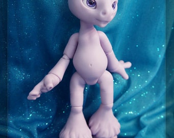Magic the Unicorn- Limited edition purple resin - BLANK - ball joint doll / BJD