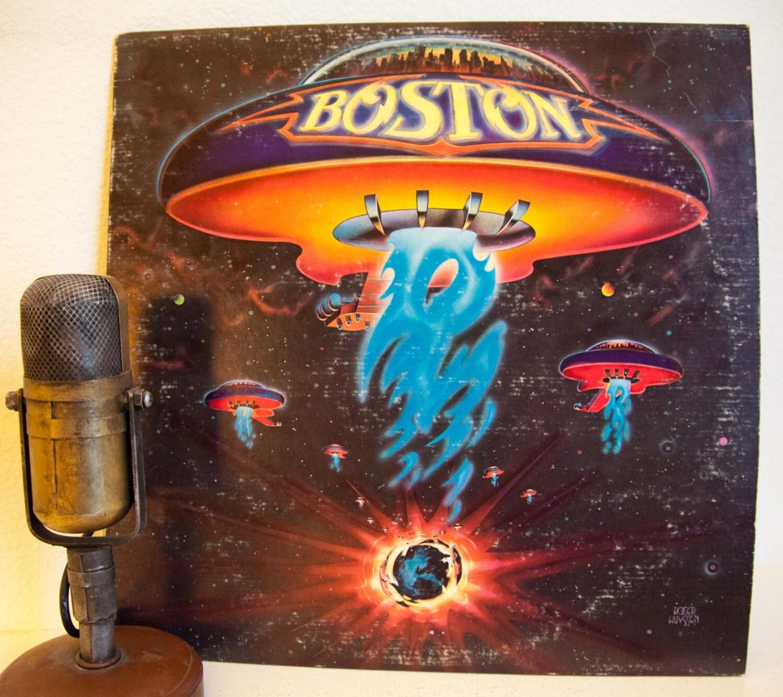 On sale boston vinyl record album 1970s classic by for Classic house vinyl sale