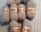 Reynolds Icelandic homespun wool Lopi yarn lot of 8 skeins