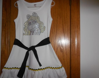 Girl's Miss Piggy  Dress