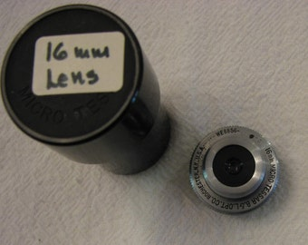 Vintage Camera Lens Bausch and Lomb 16mm Micro-Tessar WE8856 Lenses Early 1900s 06