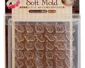 Padico alphabet mold/Padico soft mold/alphabet soft mold/alphabet push mold/Padico cursive letters mold/alphabet resin mold/silicon mold