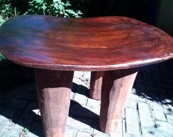 Brown Senufo Stool / Side Table