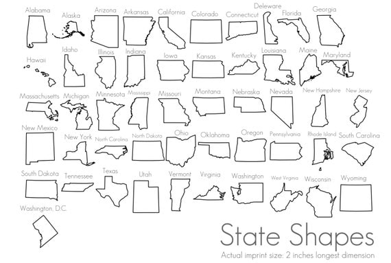 USA State Stamp Heart Over Your City California Oregon - Us map with california michigna wiscoinin arizona and florida highlithed