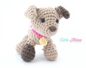 Download Now - CROCHET PATTERN Spot the Puppy with collar and leash PDF 84