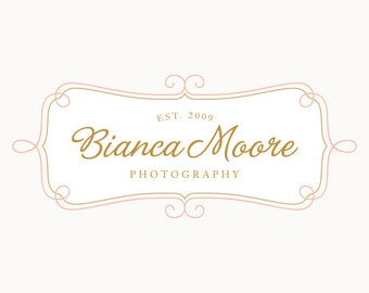EXCLUSIVE OOAK Premade Logo and Watermark Perfect For Branding Your Business- Never Sold Again